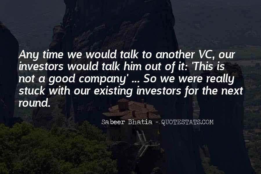Not Good Company Quotes #557465