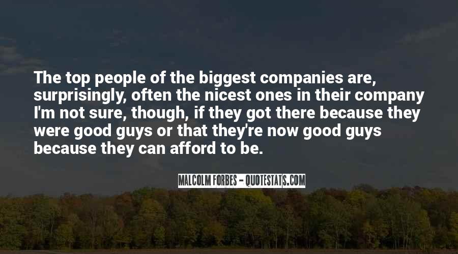 Not Good Company Quotes #575107