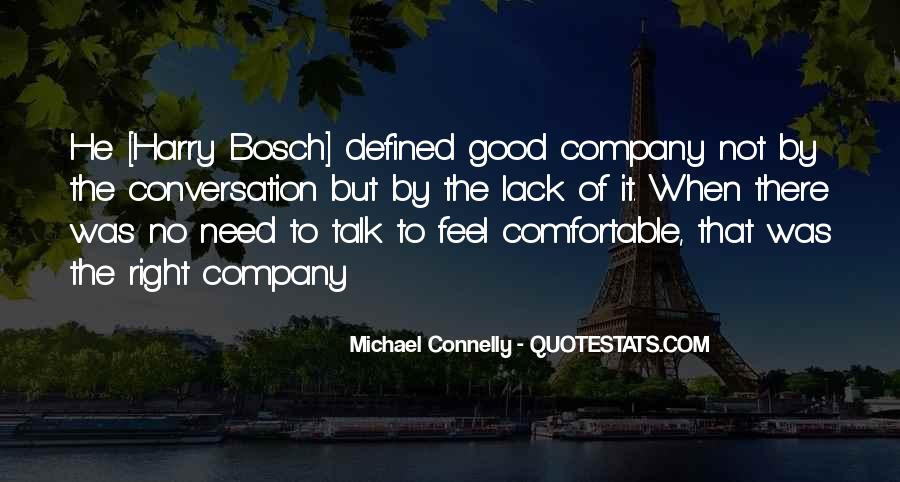 Not Good Company Quotes #708635