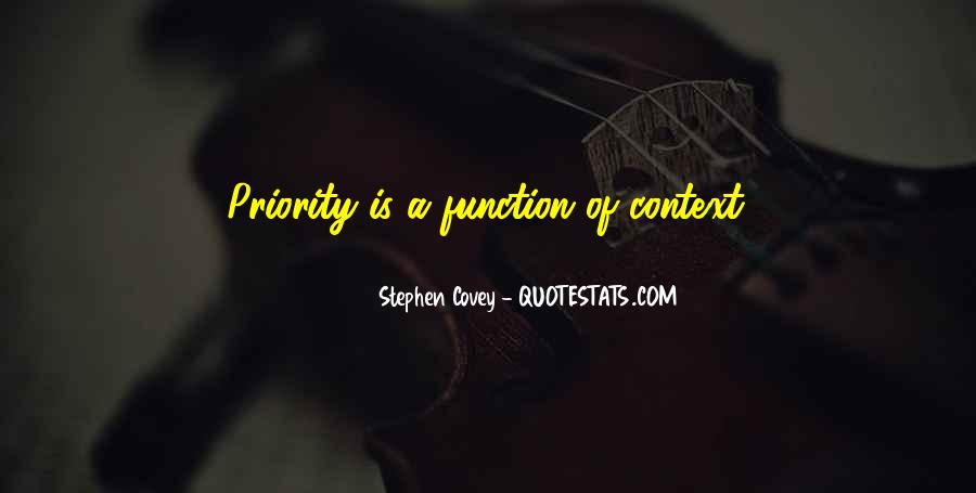 Not His Priority Quotes #52806