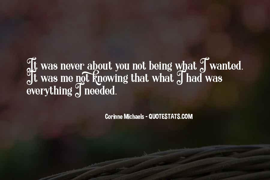 Not Knowing Everything Quotes #415487
