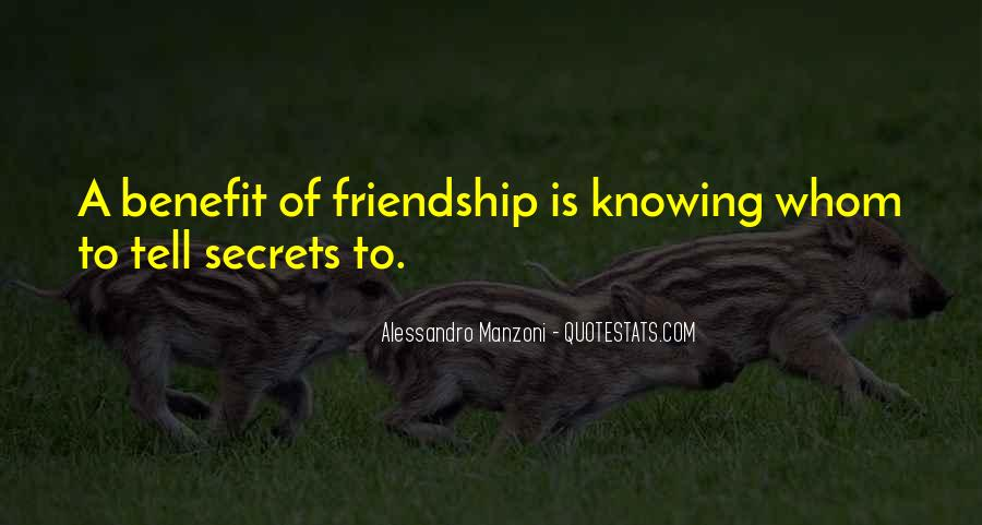 Not Knowing Friend Quotes #1648430