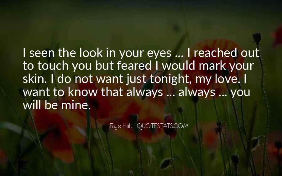 Not Mine Love Quotes #216538