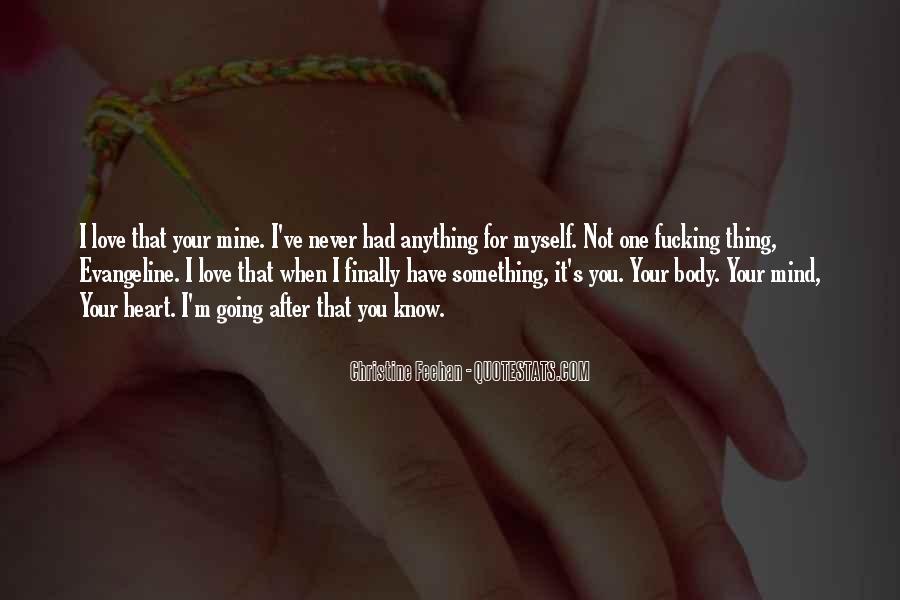 Not Mine Love Quotes #379658