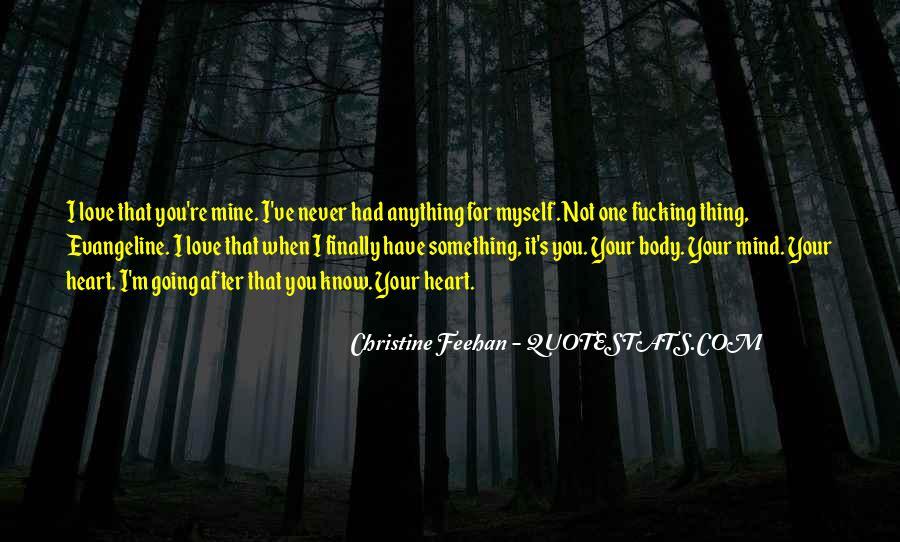 Not Mine Love Quotes #538001