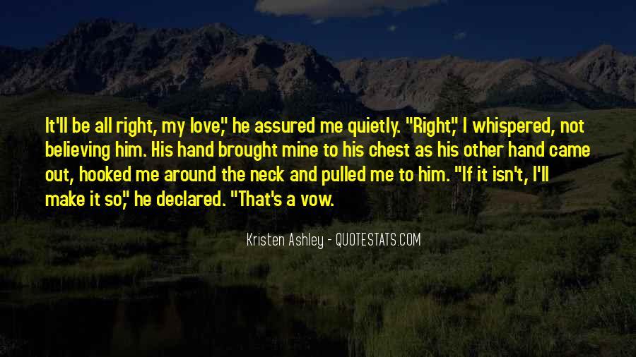Not Mine Love Quotes #952889