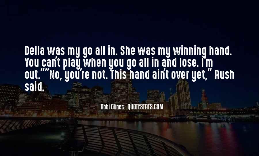 Not Over Yet Quotes #870585