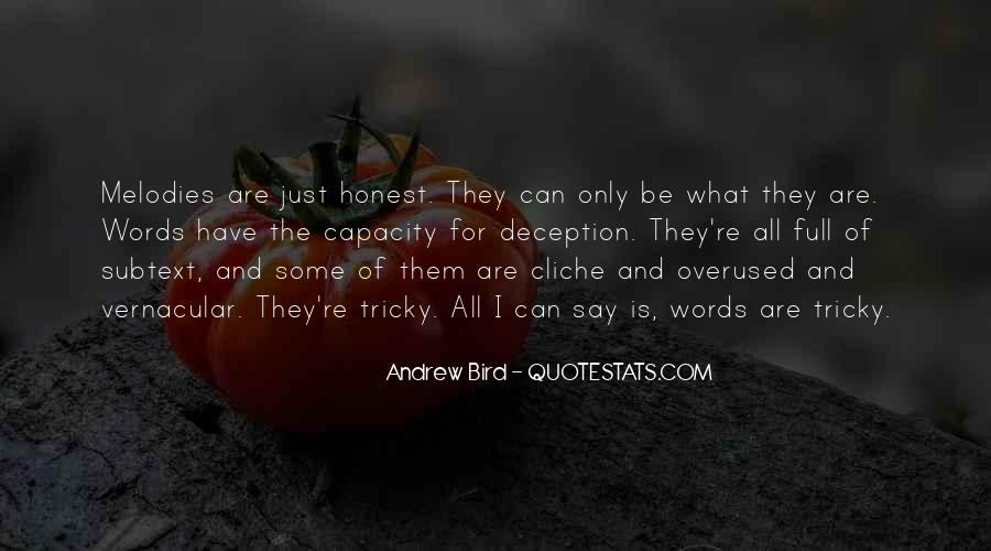 Not Overused Quotes #121997