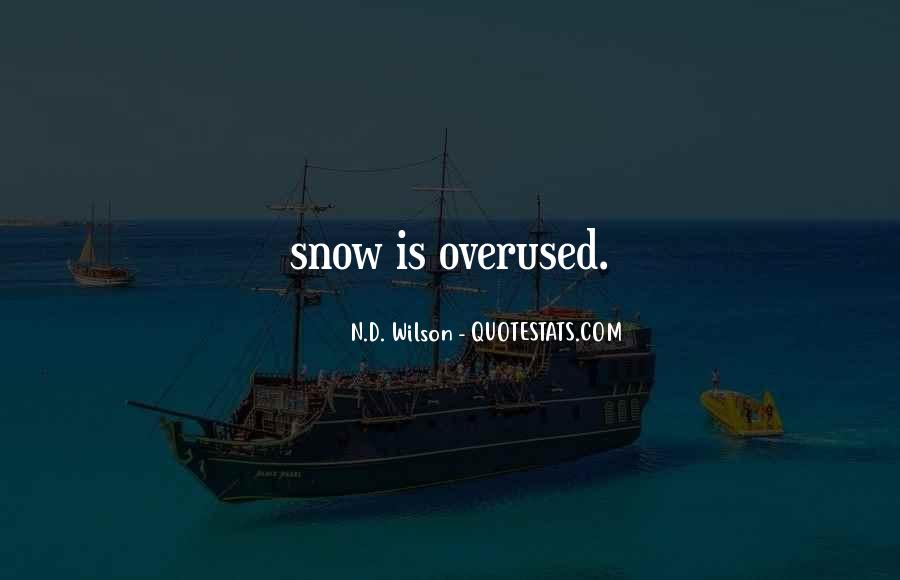Not Overused Quotes #905039