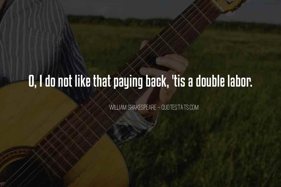 Not Paying Back Money Quotes #45072