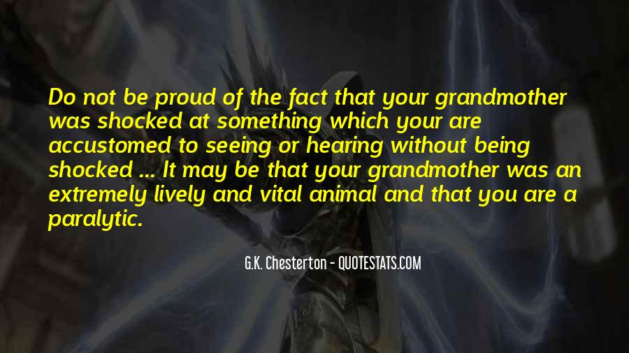 Not Proud Of You Quotes #497632