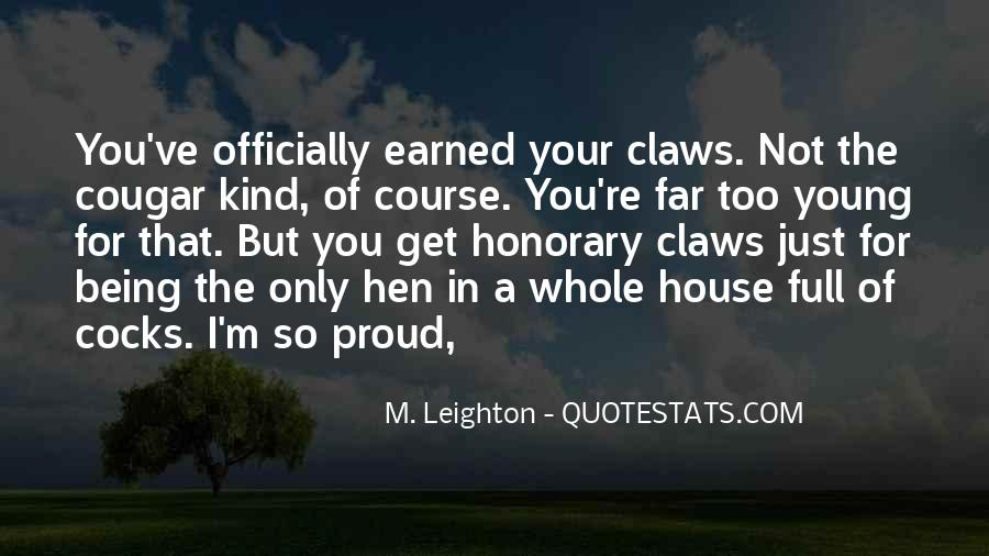 Not Proud Of You Quotes #786371