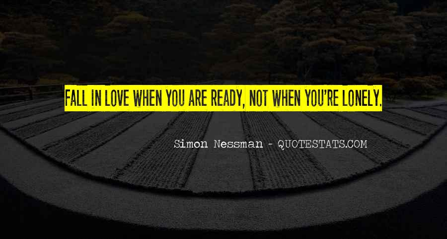 Not Ready In Relationship Quotes #961221