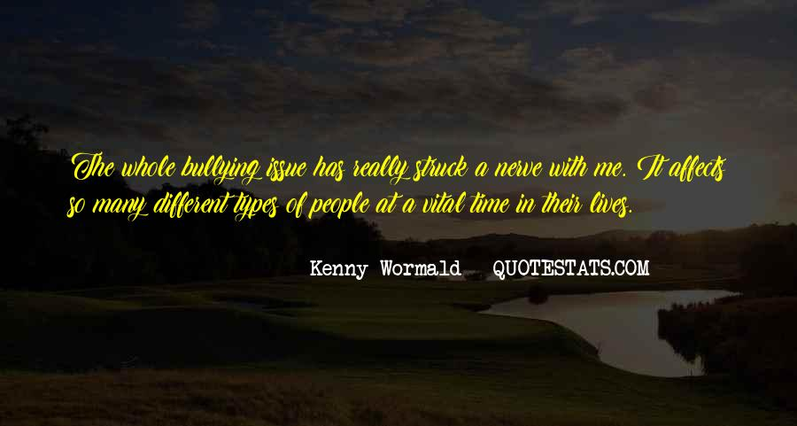 Quotes About Bullying Affects #1773258
