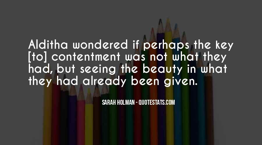 Not Seeing Beauty Quotes #1282703