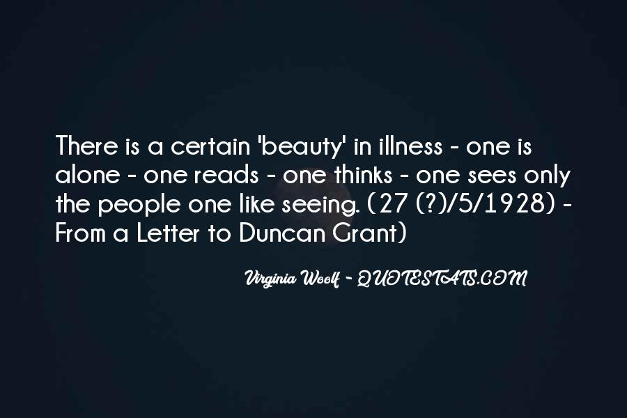 Not Seeing Beauty Quotes #181961