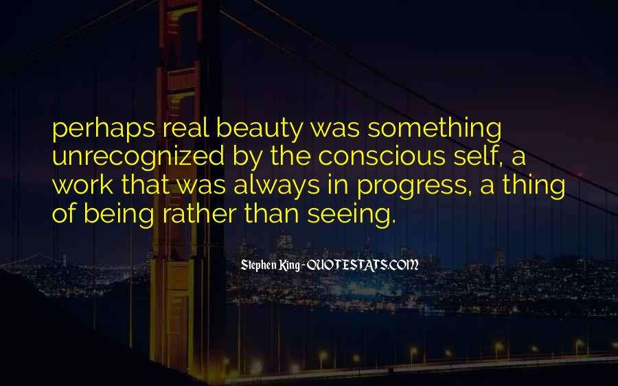 Not Seeing Beauty Quotes #613222