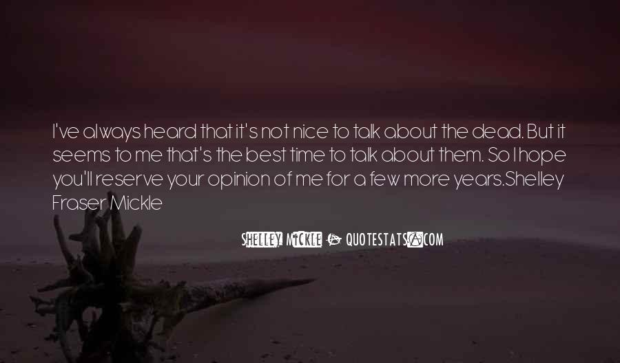 Not So Nice Quotes #201359