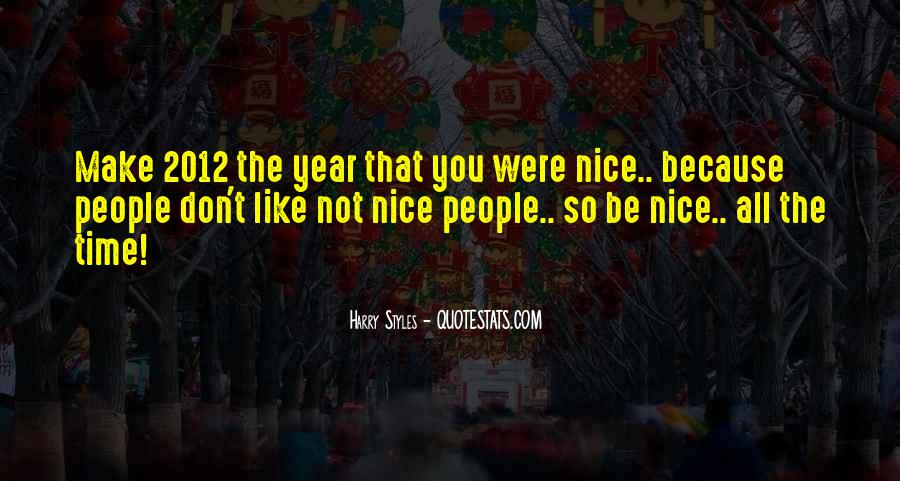 Not So Nice Quotes #510896