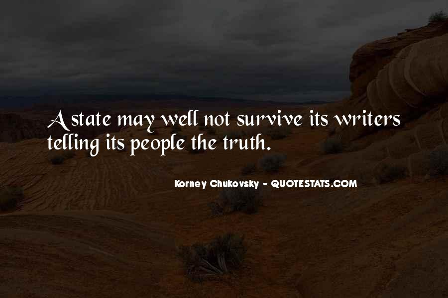 Not Telling Truth Quotes #221229