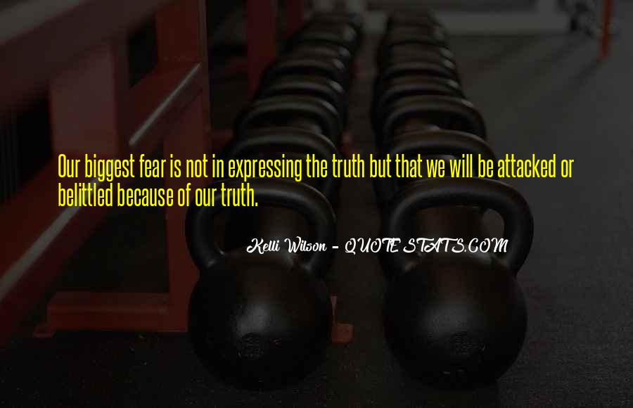 Not Telling Truth Quotes #228024