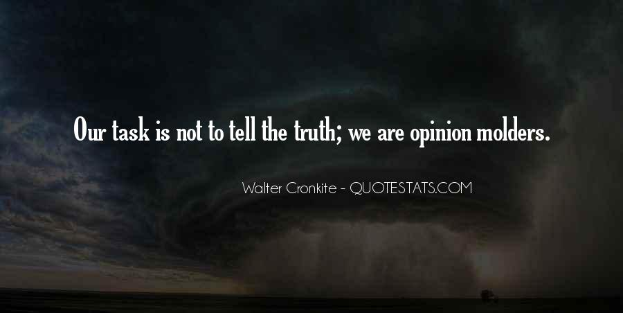 Not Telling Truth Quotes #774967
