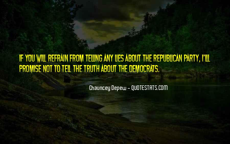 Not Telling Truth Quotes #81326