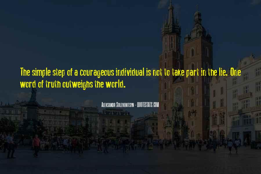 Not Telling Truth Quotes #937962