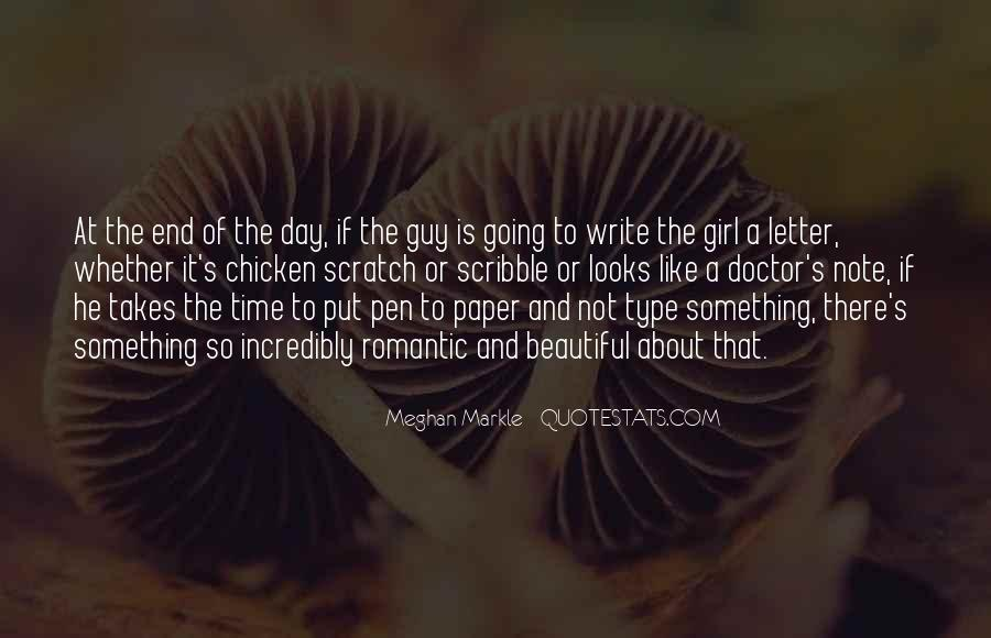 Not That Type Of Girl Quotes #1595966