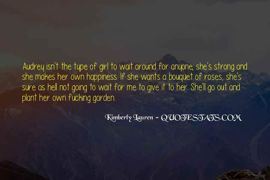 Not That Type Of Girl Quotes #690771