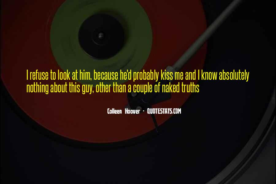 Not The Best Couple Quotes #16984