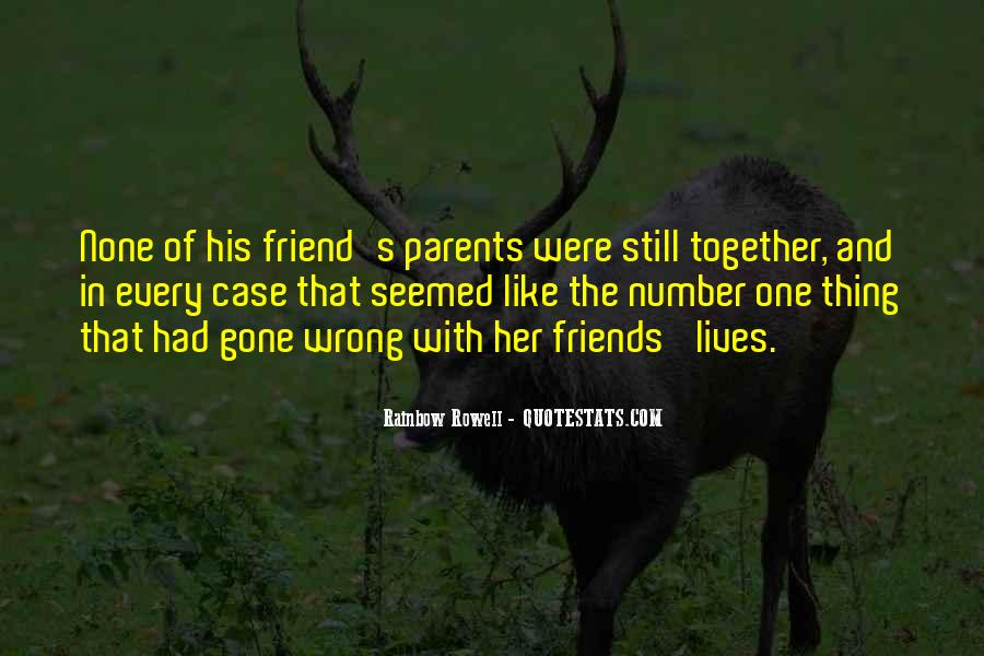 Not The Number Of Friends Quotes #196498