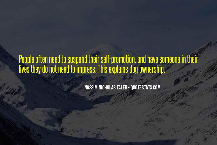 Not To Impress Others Quotes #54884