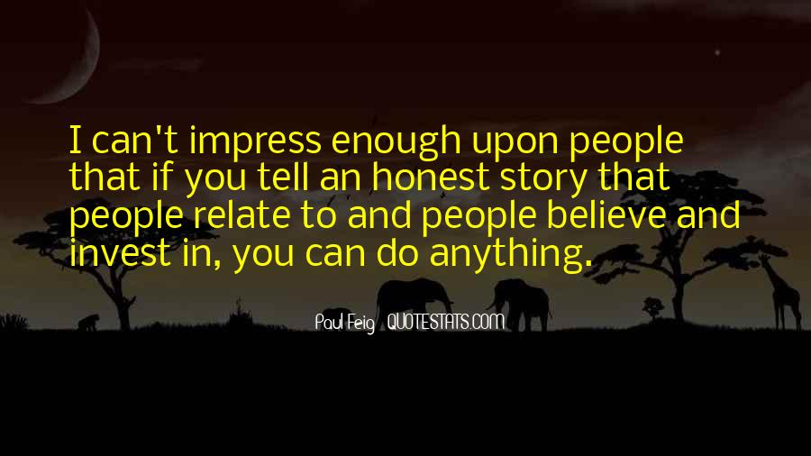 Not To Impress Others Quotes #91396