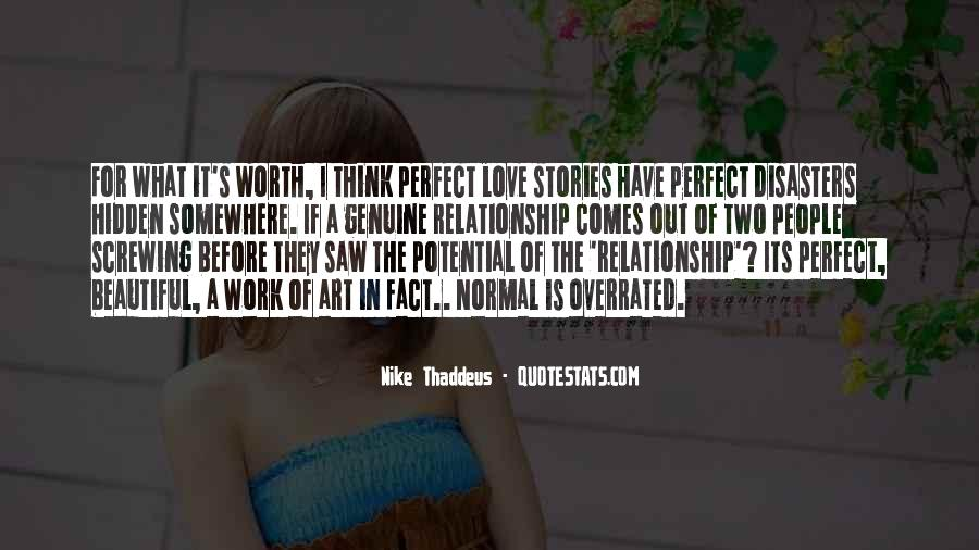 Not Worth Relationship Quotes #1682768