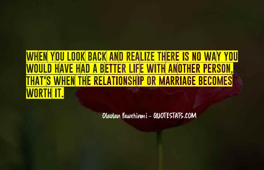 Not Worth Relationship Quotes #771827