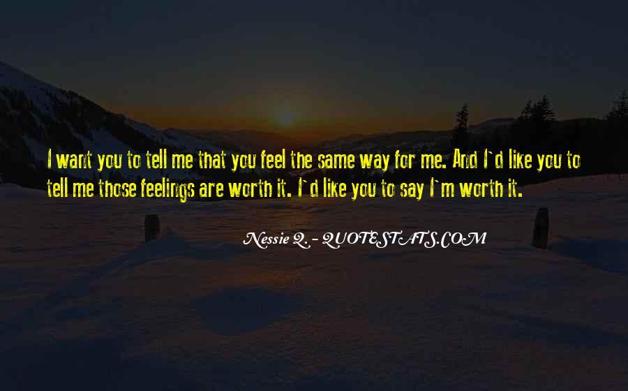 Not Worth Relationship Quotes #93913