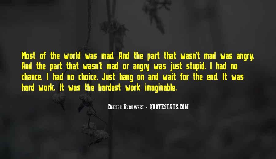 Quotes About Bukowski Work #1040776