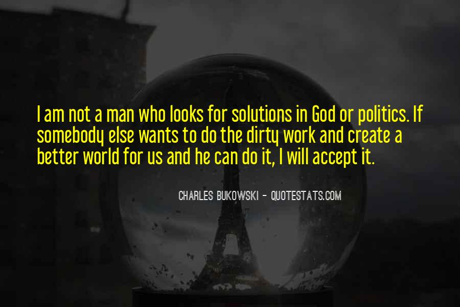 Quotes About Bukowski Work #1674014
