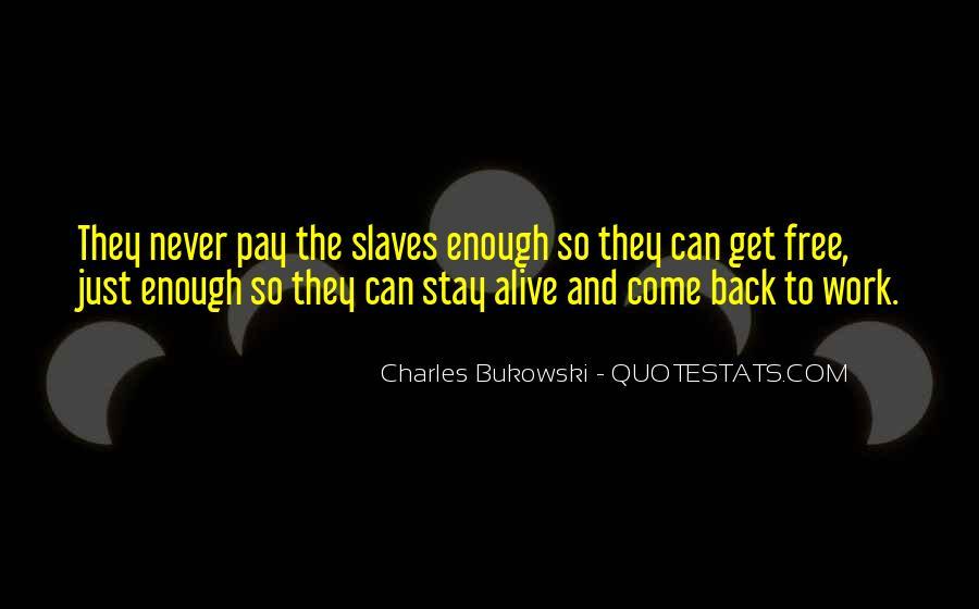 Quotes About Bukowski Work #389970