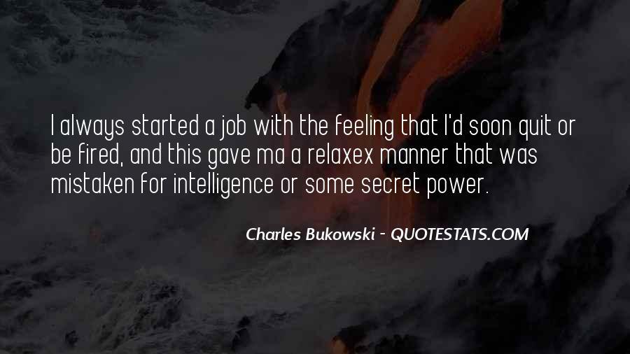 Quotes About Bukowski Work #50731