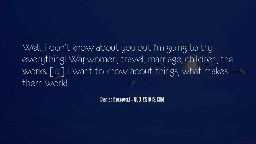 Quotes About Bukowski Work #738057