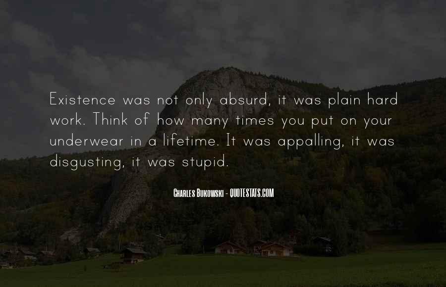 Quotes About Bukowski Work #759305