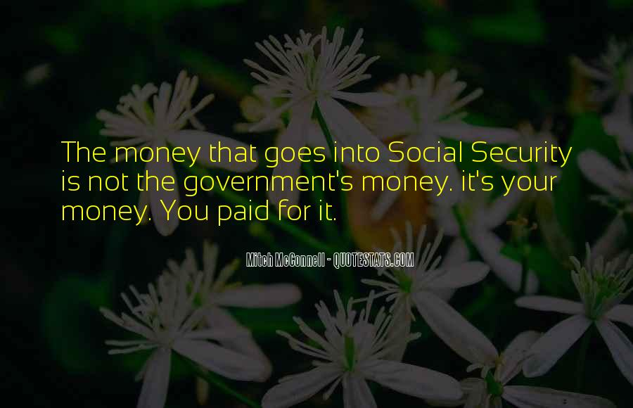 Not Your Money Quotes #158937