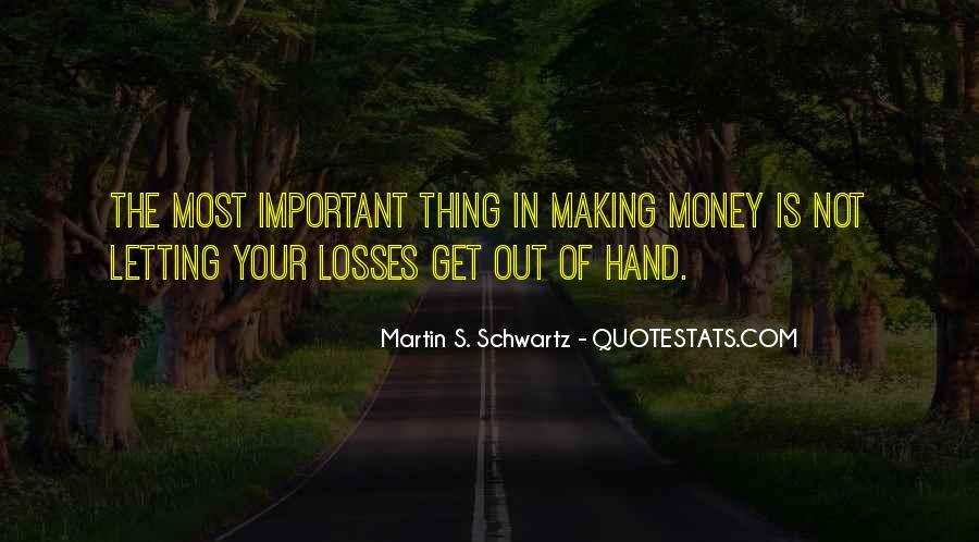 Not Your Money Quotes #22269