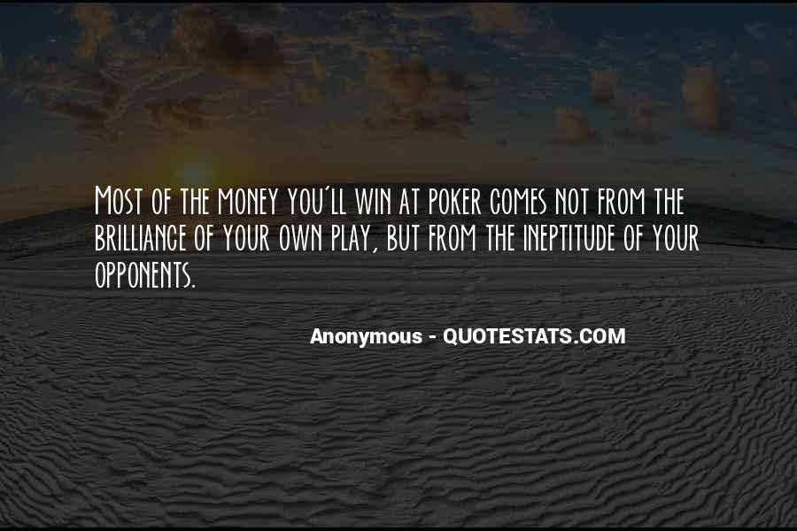 Not Your Money Quotes #378326