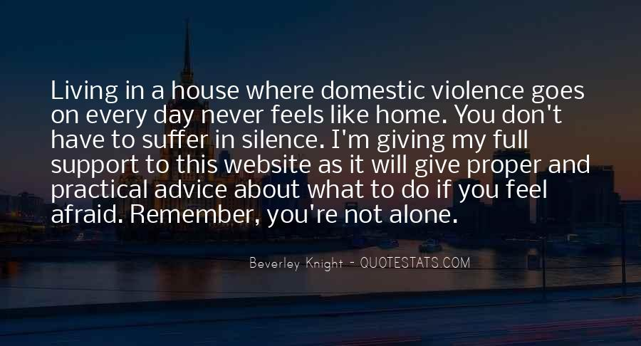 Nothing Feels Like Home Quotes #30502