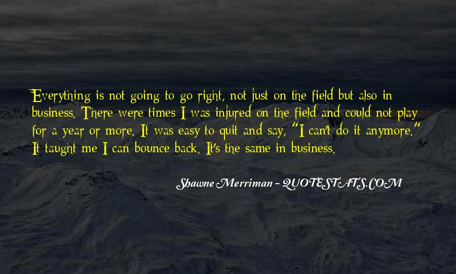Nothing Goes Right Anymore Quotes #261879