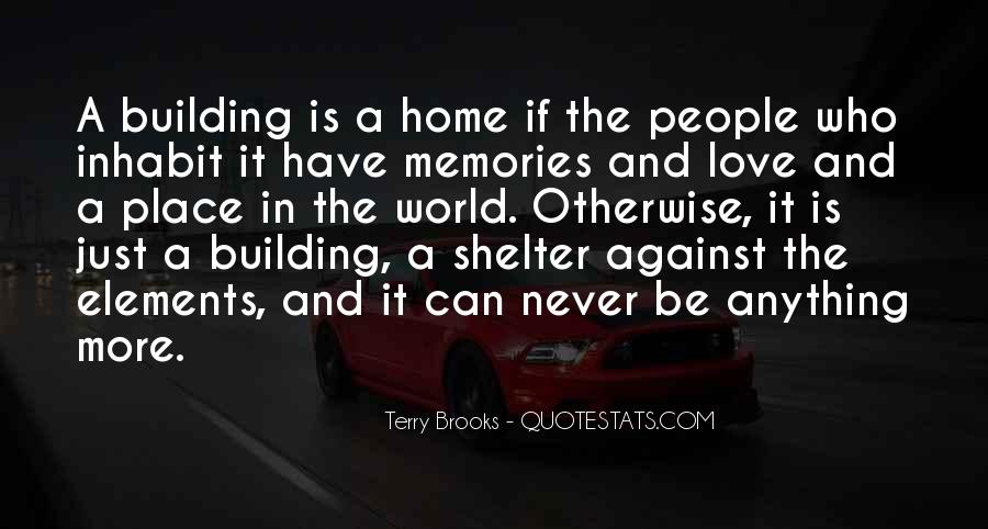 Quotes About Building Memories #669695