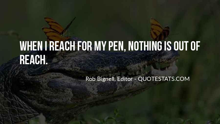 Nothing Is Out Of Reach Quotes #431823
